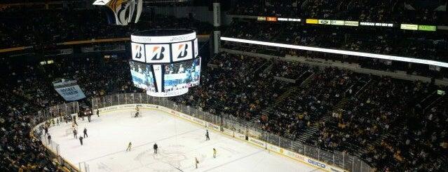 Bridgestone Arena is one of Great Sport Locations Across United States.