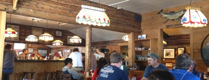 Nora's Fish Creek Inn is one of Wyoming Culinary Digs.