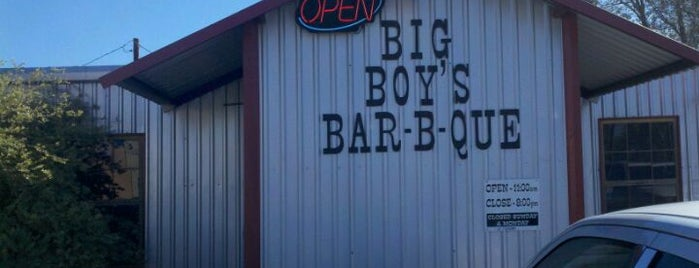 Big Boy's Bar-B-Que is one of 2013 TMBBQ Top 50.