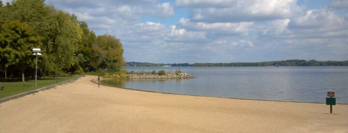 Governor Nelson State Park is one of Fresh Air Around Madison, WI.