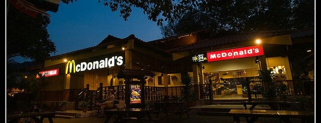 McDonald's is one of Top picks for Burger Joints.
