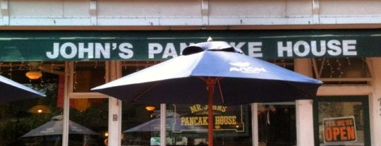 Mr. John's Pancake House is one of Breakfasts of Champions.