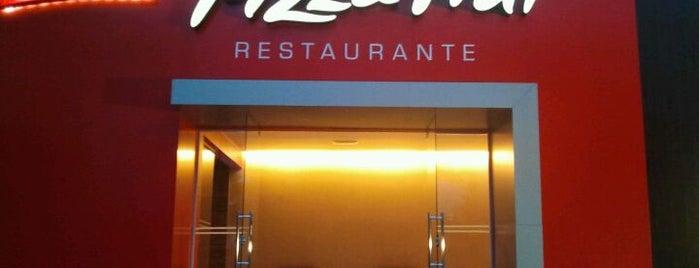 Pizza Hut is one of Pontos Turisticos Essenciais Goiania.