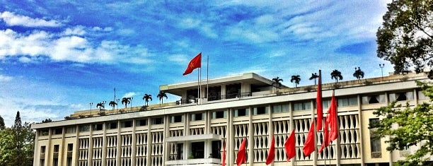 Independence Palace / Reunification Palace is one of Ho Chi Minh City to-do.
