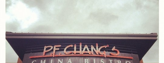 P.F. Chang's is one of Places to eat in INDY.