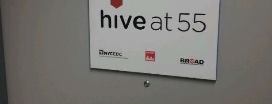 Hive at 55 is one of Ultimate NYC Nerd List.