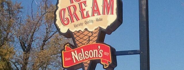 Nelson's Ice Cream is one of MPLS to-do.