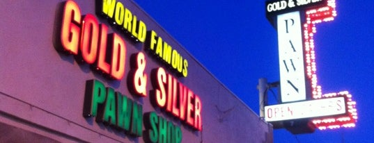Gold & Silver Pawn Shop is one of How The West Was Won.
