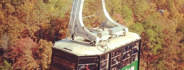 Aerial Tramway is one of Smokey Mountains!!.