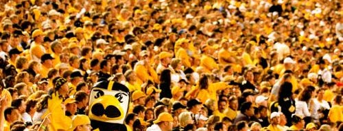 Kinnick Stadium is one of Hawkeye Football Gameday Traditions!.