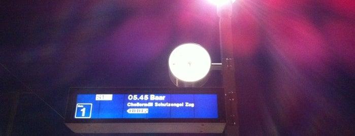 Bahnhof Cham Alpenblick is one of Bahnhöfe.