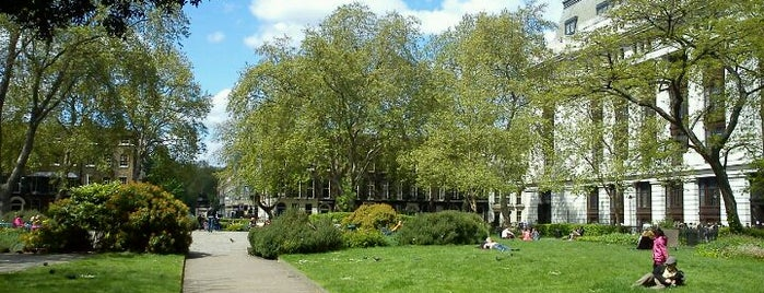 Bloomsbury Square is one of London as a local.