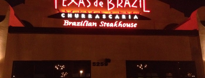 Texas de Brazil is one of Orland.