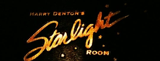 The Starlight Room is one of SF Bars.