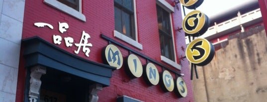 Ming's Restaurant is one of crash course: dc.