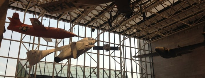 National Air and Space Museum is one of DC.