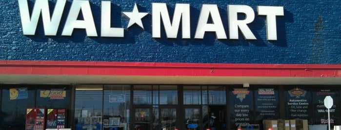 Walmart is one of Kitchener.