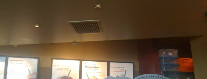 "Starbucks Coffee is one of Cafés ""Info Llama""."