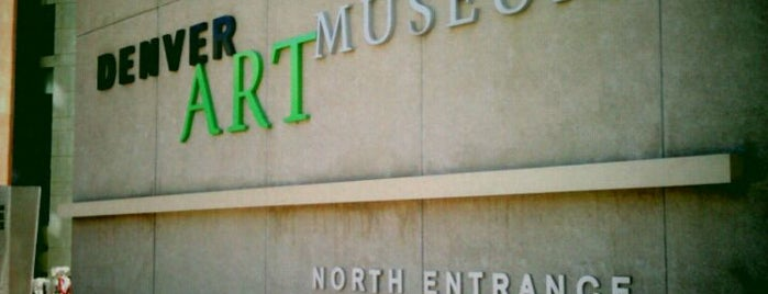 Denver Art Museum is one of Favorite Arts & Entertainment.
