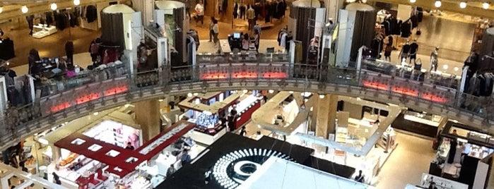 Galeries Lafayette Haussmann is one of Grands Magasins - Paris.