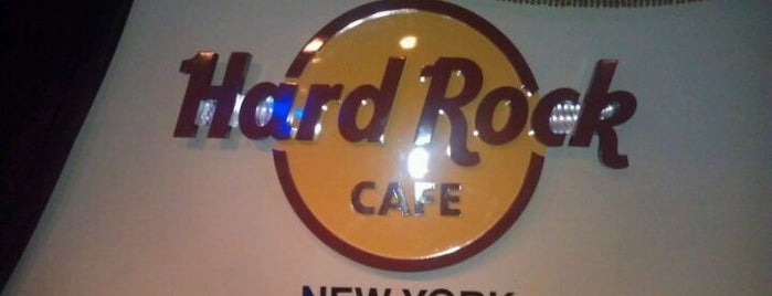 Hard Rock Cafe New York is one of NYC - Quick Bites!.