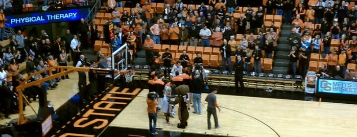 Gill Coliseum (OSU) is one of Basketball Arenas of the Pac-12.