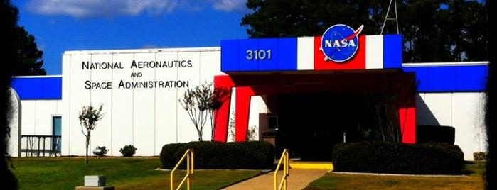 NASA - Stennis Space Center is one of NASA.