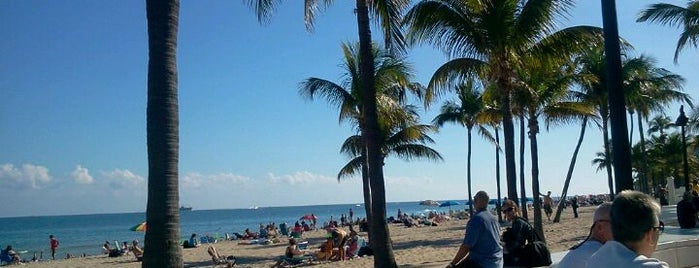 Fort Lauderdale Beach is one of Local Favorites in Fort Lauderdale #VisitUS.