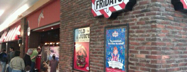T.G.I. Friday's is one of El Afterwork.