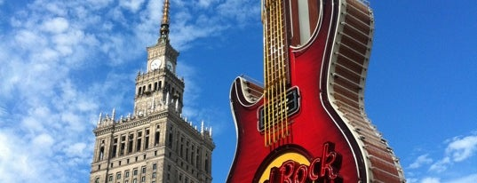 Hard Rock Cafe Warsaw is one of HARD ROCK CAFE'S.