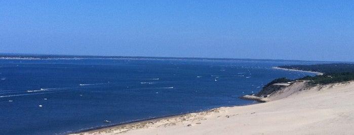 La Dune du Pilat is one of Les plus Belles Plages entre Hendaye et Arcachon.