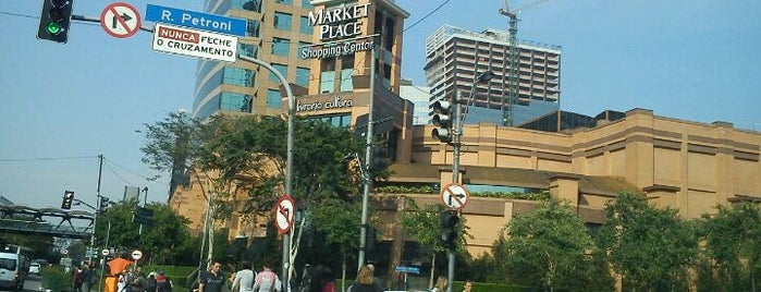 Shopping Market Place is one of Shopping Centers de São Paulo.