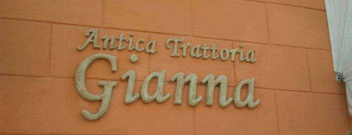 Antica Trattoria Gianna is one of Risto visitati.