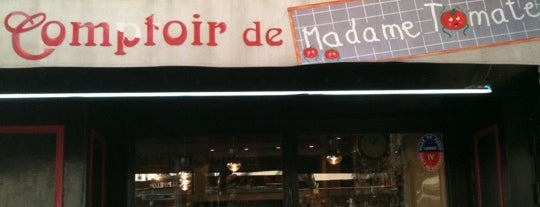 Le Comptoir de Madame Tomate is one of Brunchs.