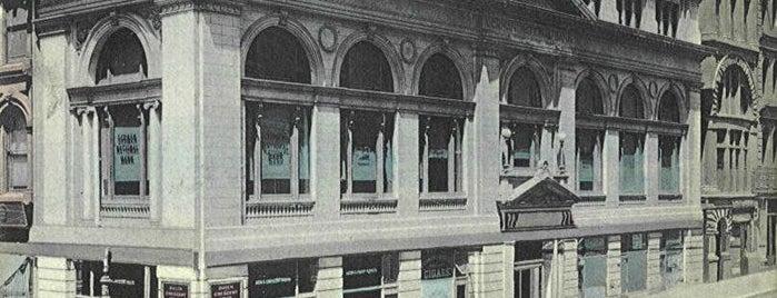 Starbucks is one of Surviving Historic Buildings in Cincinnati.