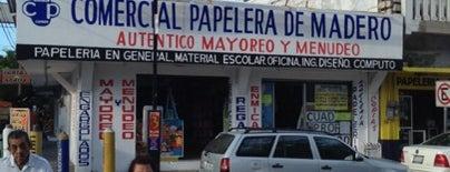 Comercial Papelera de Madero is one of MaYoR.
