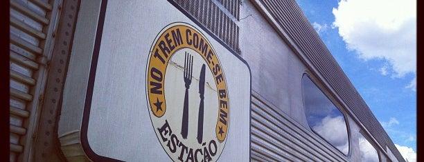 Estação Boca Do Monte is one of Bares & Restaurantes.
