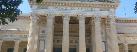 Palais de Justice is one of Escapade à Nîmes.