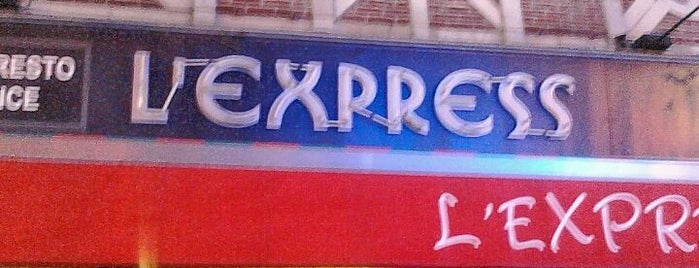 L'Express is one of BXL to do.