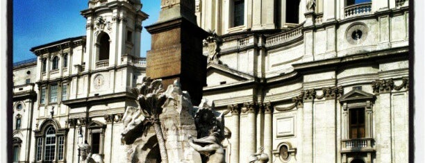 Piazza Navona is one of Europe 2013.