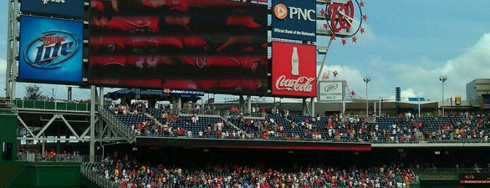Nationals Park is one of ♡DC.
