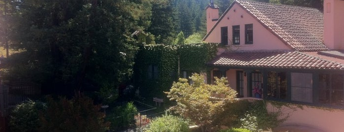 Applewood Inn, Restaurant and Spa is one of Wine Road Winery & Lodging Restaurants.