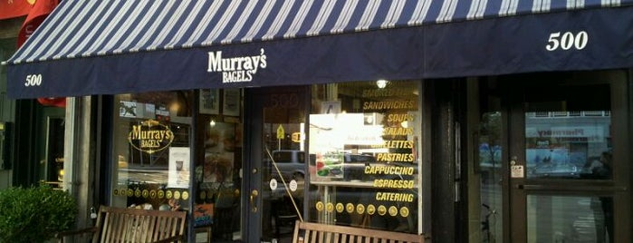Murray's Bagels is one of Favoritos em New York.