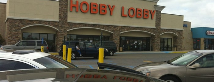 Hobby Lobby is one of Stores I've Shopped At.