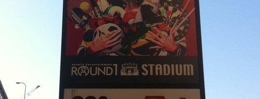 Round1 Stadium is one of QMA設置店舗(東京区部山手線外).