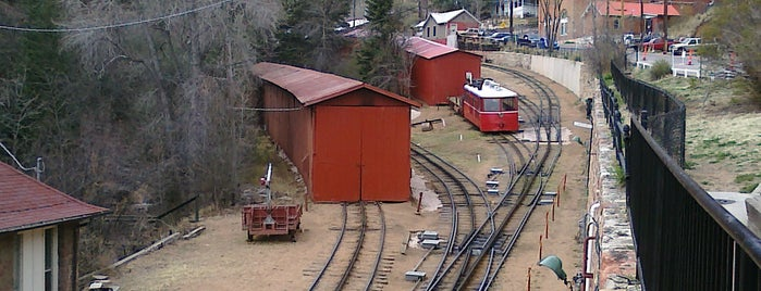 Pikes Peak Cog Railway is one of Southern Colorado Guide.
