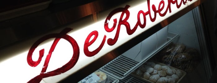 DeRobertis Pasticceria & Caffe is one of NY Region Old-Timey Bars, Cafes, and Restaurants.