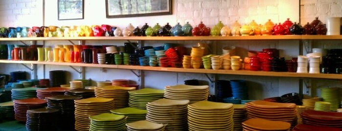Homer Laughlin Factory Outlet (Fiestaware) is one of Wild and Wonderful West Virginia.