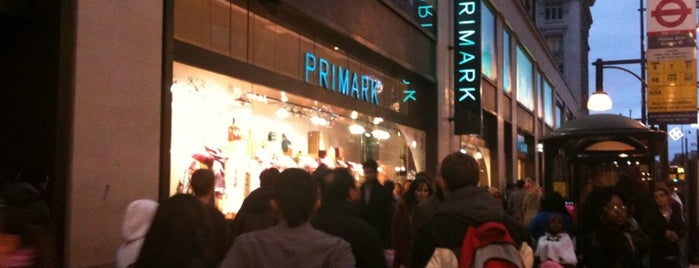Primark is one of The Fashionista's Guide to London, UK.