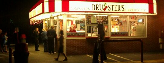 Brusters Ice Cream is one of Favorites.